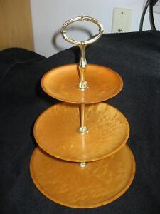 Birds Eye Maple Sweets/Appetizer Stand