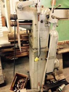 Niagara motorized Beader, Crimper, 18 ga. ms capacity, 115 volt, Mod. 172
