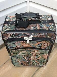 Floral Carry Size Nygard Suitcase/Luggage