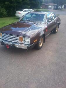 Brown Ford pinto
