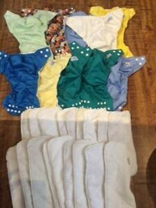 Fuzzibunz one size cloth diapers and inserts