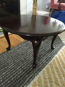 Small Mahogany Gibbard Coffee Table
