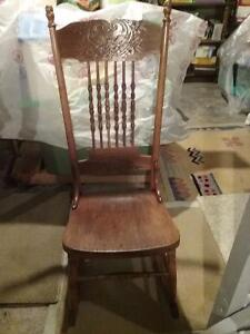 Rocking chair - wooden older style