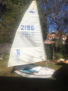 Sabot sailing boat Drummoyne Canada Bay Area Preview