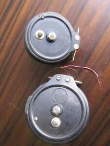 "2 Vintage S&A ""Steelite"" Fishing Reels Goodwood Unley Area Preview"