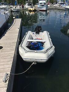 DURAS Zodiac style rigid inflatable with 20HP (LIKE NEW)