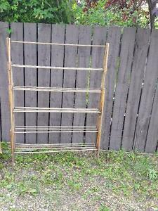 Antique clothes drying rack oversized