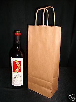 Paper Wine Bags Ebay