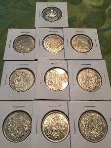 Uncirculated Canada Silver Coins