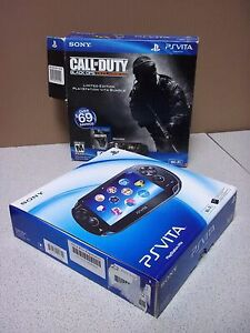 COD edition PS Vita with case and games