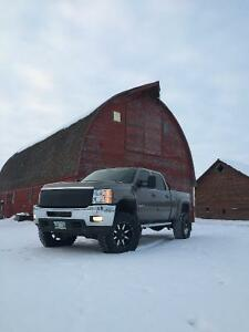 2012 Chevrolet Silverado 2500 SLT Pickup Truck LIFTED