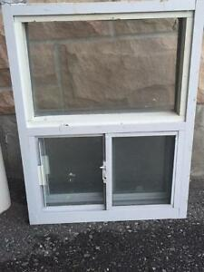 Basement Slide Window with Screen