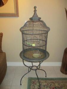 Beautiful Bird Cage - Great Unique & Classy Design