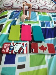 6 iPhone 5 cases for sell