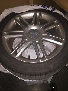 Michelin x-ice 3 225/45R17 with rim