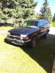 1999 Chevrolet Blazer Blackcomb SUV, Crossover