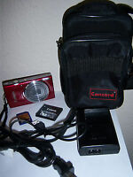Canon IXUS 145 16.0 MP HD Video 8x Zoom Digital Camera