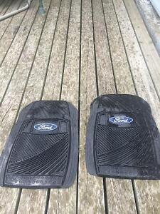 Pair of Ford floor mats