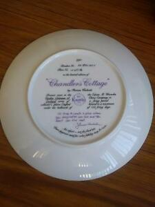 Collector's Dish- Chandler's Cottage by Thomas Kinkade Prince George British Columbia image 2