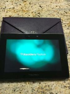 Blackberry Playbook w/case