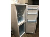 Latest Type Family Size Slimline Fridge/Freezer In Excellent Clean Working Condition 5ft 4inch Tall
