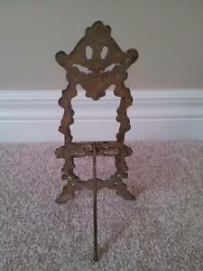 Vintage Victorian Brass Display Easel / Book Holder London Ontario image 2