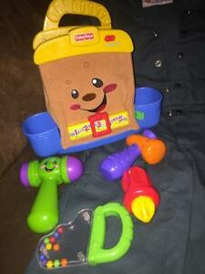 Size 2 coveralls and fisher price tool set St. John's Newfoundland image 3