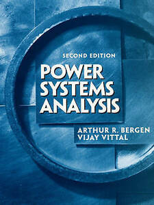 NEW Power Systems Analysis (2nd Edition) by Arthur R. Bergen