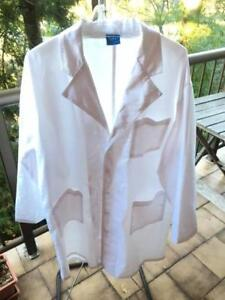 Large White LAB coat - Size 4XL - for your first prac! Taringa Brisbane South West Preview