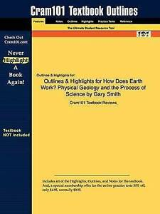 Studyguide for How Does Earth Work?: Physical Geology and the Process of Scienc