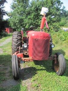 1965 David Brown tractor!