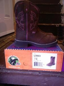 Women's Justin Size 7 Cowgirl Boots