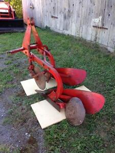 Dearborn 2 Furrow Plow, 3 point hitch, good condition