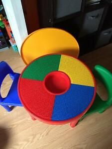 Kids Lego table