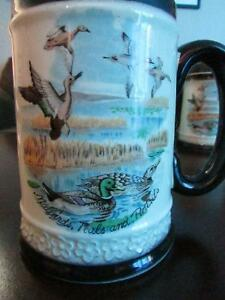 4 - 1964 COLLECTIBLE LOUIS HARTLEY DESIGNED, CANADIAN MUGS