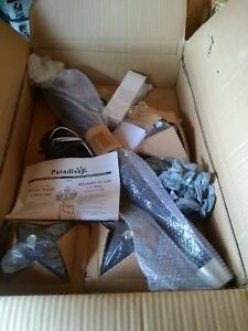 brand new street post light with house number plate Cambridge Kitchener Area image 2