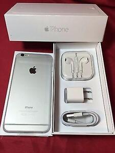 2 Unlocked Silver White iPhone 6 64GB One Brand New Never Used for $590 One Like New for $540