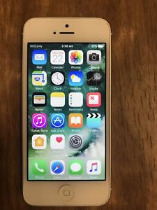 Iphone 5, 16gb, white, fully working, unlocked, great condition Ballajura Swan Area Preview