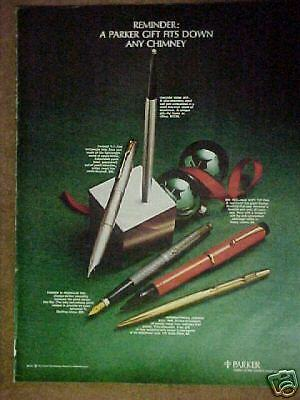 1970 Parker Pens Fountain,Ball Point,Soft Tip Print Ad