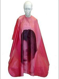 HAIRCUT CAPES / BEAUTY SALON CLOTHING / ASSORTED COLORS