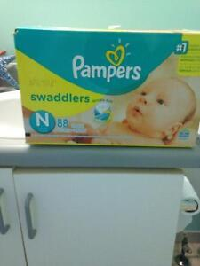 Pampers and Huggies All Sizes