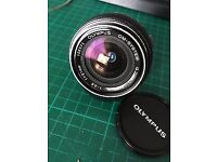 Olympus 21mm 3.5 Lens For Olympus OM Super Wide Angle Lens