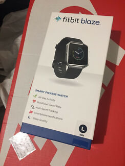 FitBit Blaze Smart Fitness Watch / Large BRAND NEW SEALED IN BOX