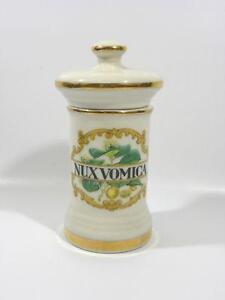 Antique Apothecary Jar Porcelain