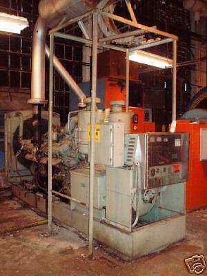350 Kw Delco Detroit Diesel Generator Set V-16 950 Hp