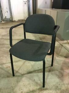 Office Chairs - Fabric Guest Chairs with Arms - $49