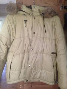 Kanuk - Manteau Chaud blouson avec fourrure Grandeur M