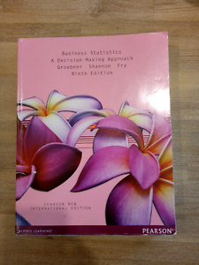Business Statistics by Groebner 9th EDITION Ferntree Gully Knox Area Preview