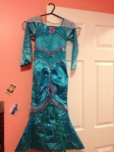 Mermaid costume for sale size 4-6