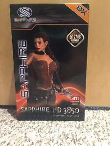 Sapphire HD 3850 graphics card